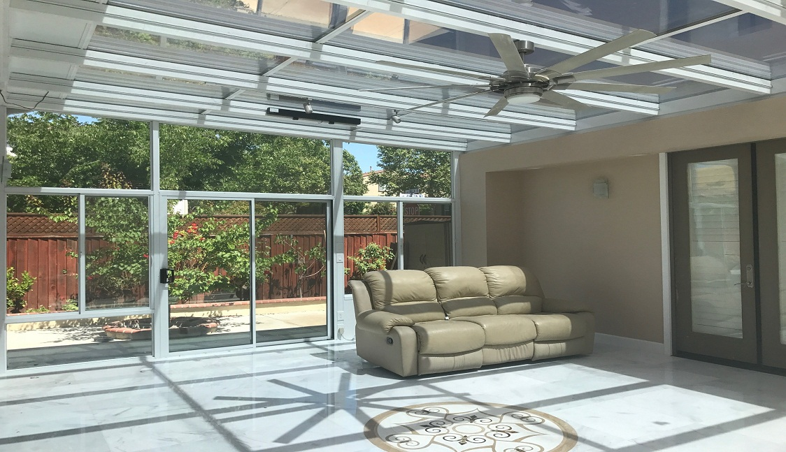 sunroom installation in Sacramento, CA